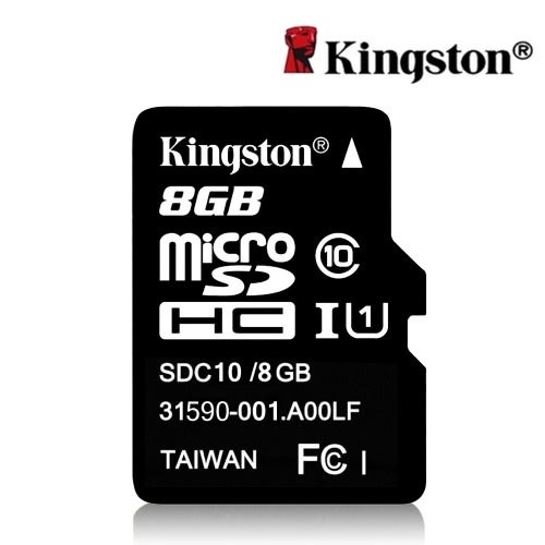 Kingston Class 10 8GB MicroSDHC TF Flash Memory Card 48MB/s Maximal Speed от Tomtop.com INT