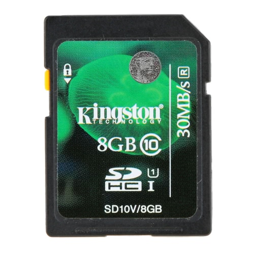 Genuine Original Kingston Class 10 8GB SDHC Memory Card 45M/s for Cellphone Camera HD Video от Tomtop.com INT