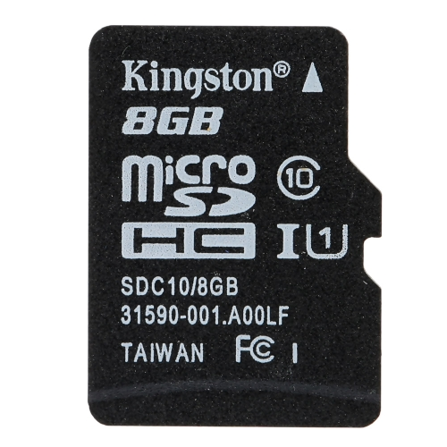 Kingston Class 10 8GB 16GB 32GB 64GB MicroSD TF Flash Memory Card 48MB/s Maximal Speed with Card Adapter от Tomtop.com INT