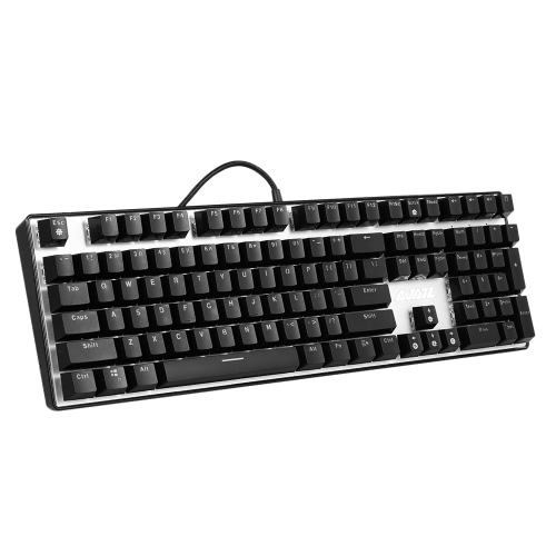 Buy A-JAZZ AK33i Mechanical Keyboard Gaming E-sport 108 Keys Anti-Ghosting USB Wired Blue Switches Backlight PC Notebook Laptop Desktop