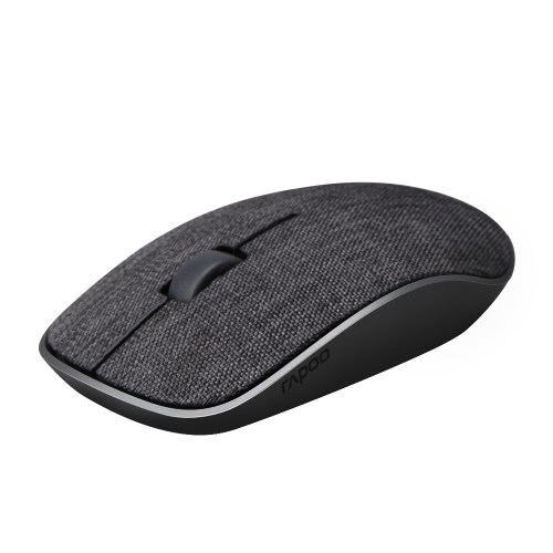 Buy Rapoo 2.4G Wireless Silent Mouse Optical Fashion Mice Soft Fabric Cover 1000 DPI Mac PC Laptop Computer Office