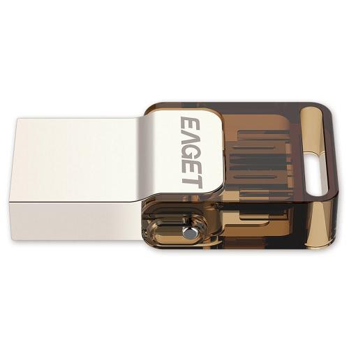 Buy EAGET V9 32GB Ultra Thin Rotation Cap Encryption Metal Tablet PC USB Flash Drive USB2.0 OTG Smartphone Pen Micro Portable Storage Memory
