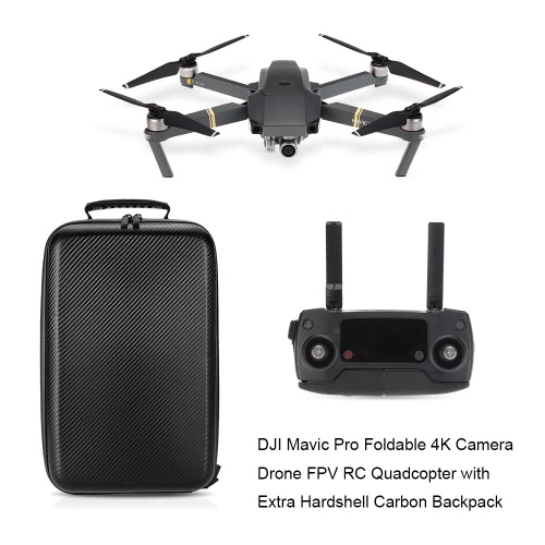 DJI Mavic Pro Foldable Obstacle Avoidance Drone FPV RC Quadcopter - EU Plug от Tomtop.com INT