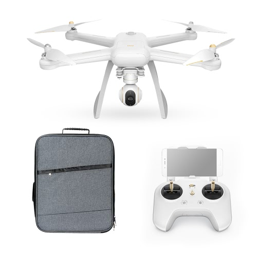 Original XIAOMI Mi Drone 4K Camera WiFi FPV 3-Axis Gimbal GPS RC Quadcopter with Extra Soft Shell Backpack от Tomtop.com INT