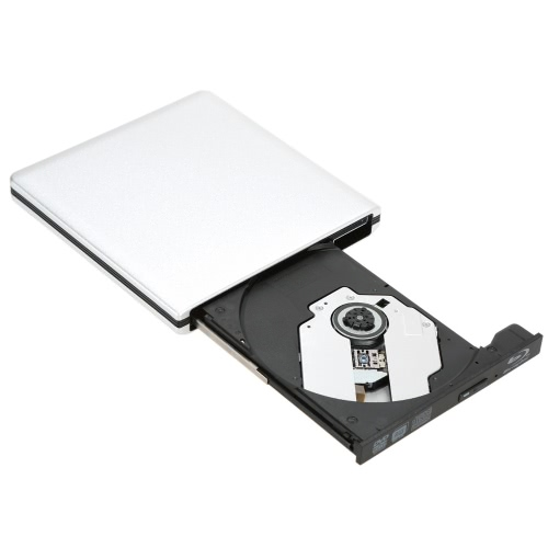 USB3.0 External SATA Optical Drive Portable DVD-RW-BD-ROM-BD-RW Player Burner Recorder