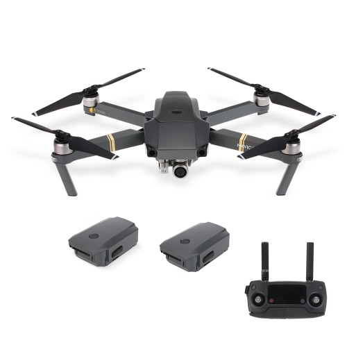 DJI Mavic Pro Foldable 4K Camera FPV RC Quadcopter with Two Extra Batteries от Tomtop.com INT