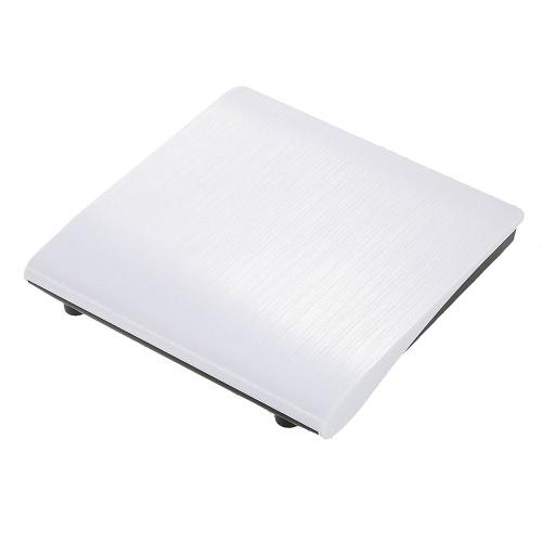Ultra Slim Portable USB 3.0 SATA 12.7mm External Optical Disk Drive Case Box for PC Laptop Notebook