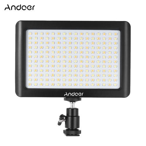 Buy Andoer Mini Portable Dimmable Studio Video Photography LED Light Panel Lamp 3200K/6000K 19Beads Canon Nikon DSLR Camera DV Camcorder