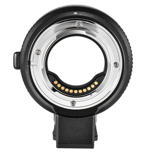 Buy Commlite CM-AEF-MFT Lens Adapter Support AF Auto Focus IS Stabilization Exif Transmission Electronic Aperture Control EF/EF-S M4/3 Camera Panasonic GH3 GH4 GX7 GF5 GF6 GX1 GM Olympus PL5 PL6 OM-D E-M5 E-M1