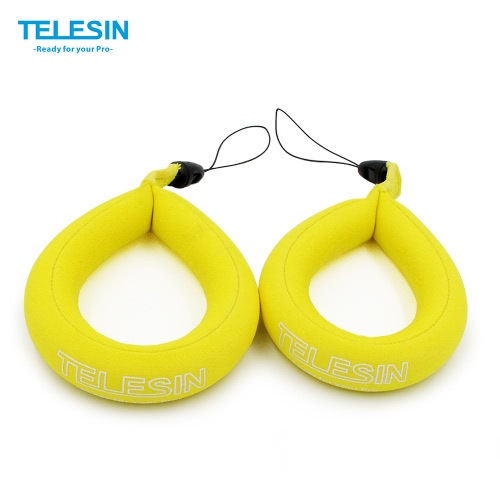 Buy TELESIN Waterproof Camera Float Floating Straps Hand (1 bag) GoPro/Panasonic Lumix/Nikon COOLPIX AW110/Canon PowerShot D20/Fujifilm FinePix/Olympus Tough/Sony-Protect Device Sinking