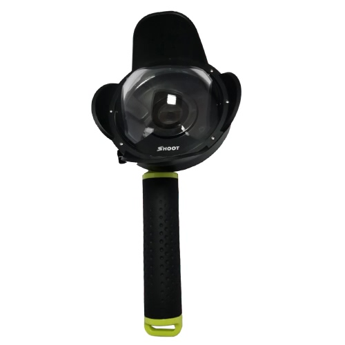 SHOOT Portable Diving Fisheye Dome Port Accessory for Xiaomi Yi Diving Camera Sports Action Cam Underwater Photography Waterproof 40M with Floaty Grip от Tomtop.com INT
