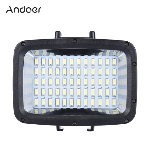 Buy Andoer 12W 3 Mode 5500K Fill-in LED Light Lamp Diving 40m 2000mAh 18650 Battery Detachable USB Port Mounting Base Filter GoPro Hero Xiaomi Yi 4K SJCAM Action Cam & Canon Nikon Sony DSLR On-camera Video Studio Photo