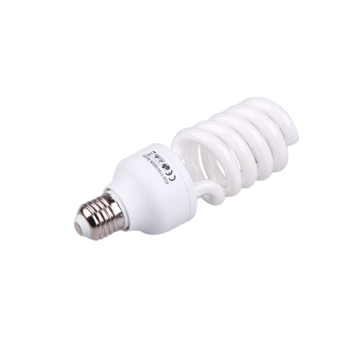 E27 110V 5500K 45W Photo Studio Bulb Video Light Photography Daylight Lamp от Tomtop.com INT
