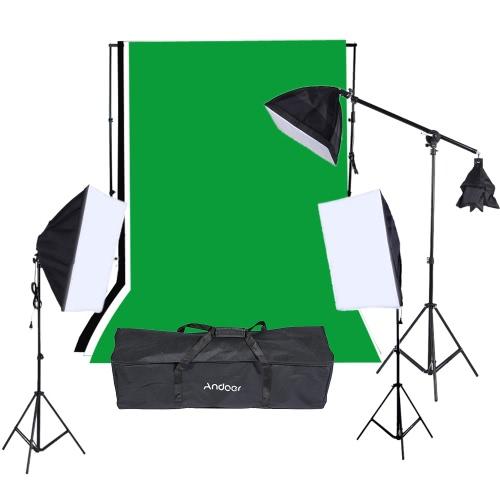 Buy Photography Studio Portrait Product Light Lighting Tent Kit Photo Video Equipment (9 * 135W Bulb+2*Softbox 4in1 Bulb Socket+1 Softbox E27 Single Socket Lamp Holder+3*Light Stand+1*Cantilever Stick+Carrying Bag)