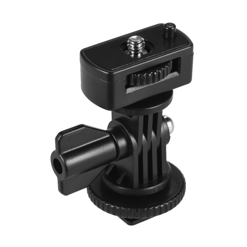 """Adjustable Cold Hot Shoe Mount Adapter with 1/4"""" Screw for Viltrox DC-90 DC-70 DC-50 Monitor L132T L116T LED Video Light от Tomtop.com INT"""