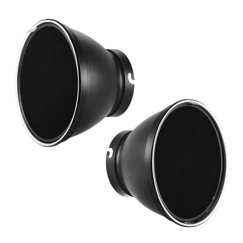 Buy 210mm Elinchrom Mount Reflector Diffuser Shade Lamp 60u00b0 Honeycomb Grid Studio Strobe Flash Light Speedlite Portrait Commercial Photography Accessory
