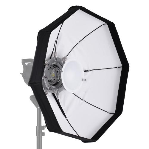 Buy 8-Pole 60cm White Foldable Beauty Dish Softbox Bowens Mount Studio Strobe Flash Light