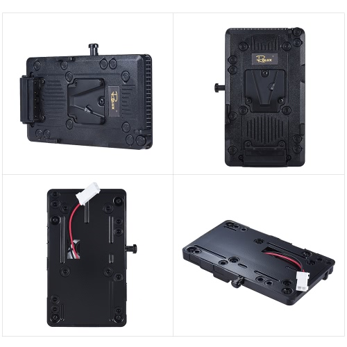 Rolux RL-IS2 V-mount V-lock DIY Power Supply Battery Plate for Sony BMCC BMPCC Camcorder Monitor LED Video Light от Tomtop.com INT