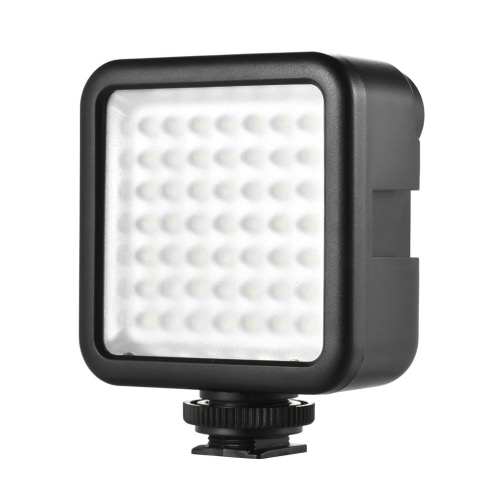Buy Andoer W49 Mini Interlock Camera LED Panel Light Dimmable Camcorder Video Lighting Shoe Mount Adapter Canon Nikon Sony A7 DSLR