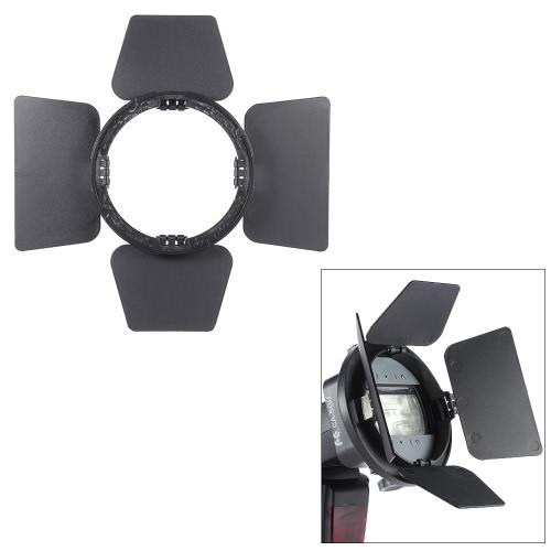 Buy SGA-BD4 Four-leaf Speedlite Flash Light Photography Barndoor Accessory Nikon Canon Yongnuo Godox Sigma Andoer Neewer Vivitar Speedlight Universal Mount