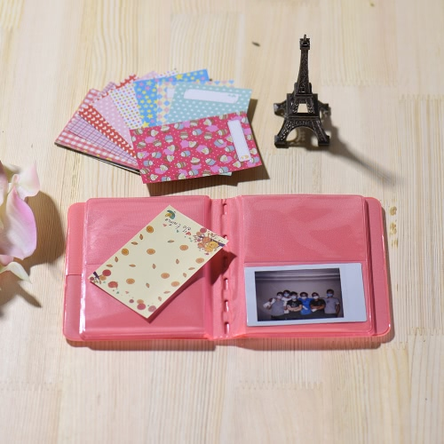 Andoer 14 1 Accessories Kit Fujifilm Instax Mini 8/8+/8s w/ Camera Case/Strap/Sticker/Selfie Lens/5*Colored Filter/Album/3 Kinds Film Table Frame/10*Wall Hanging Frame/40*Border Sticker/2*Corner Sticker/Pen