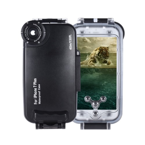 Mobile Phone Smartphone Waterproof Diving Housing Protective Case Cover Underwater 40M/ 130ft for iPhone 6 от Tomtop.com INT