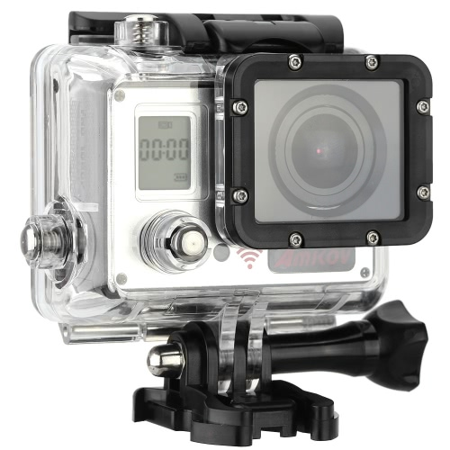 AMKOV AMK7000S 4K 10fps 1080P 60fps Full HD 170°Wide Angle Action Camera