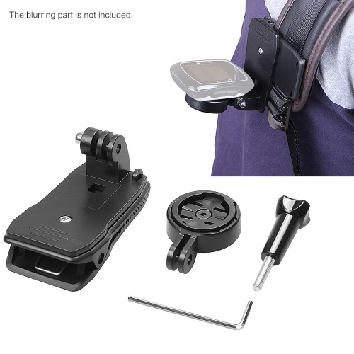 Buy Andoer 360 Degree Rotatable Bag Strap Quick Release Clip Holder Adapter Garmin GPS Edge Cycle 25 200 500 510 520 800 810 1000 Accessories Gopro