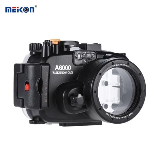 Buy MEIKON SY-13 40m / 130ft Underwater Waterproof Camera Housing Black Case Sony A6000