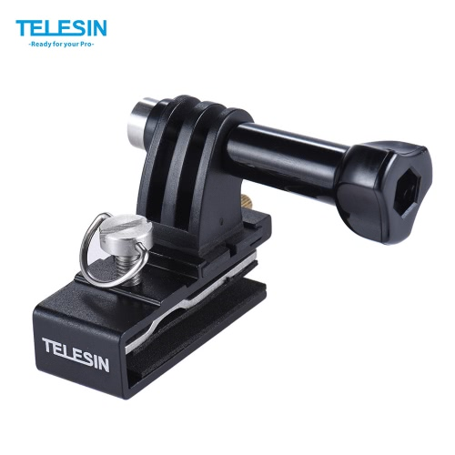TELESIN Baseball Head Cap Hat Backpack Clip Clamp Mount Adapter Support for GoPro 4/3+/3/2 for SJCAM Xiaomi Yi Action Sports Camera Accessories от Tomtop.com INT