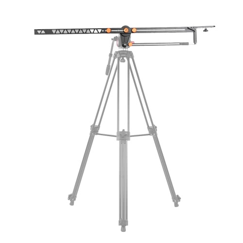 Andoer 2m/6.5ft  Foldable Aluminum Alloy Camera Camcorder Crane Photography Jib Arm for Canon Nikon Sony Olympus Pentax DSLR ILDC Video Studio Support 10kg/22Lbs Load от Tomtop.com INT