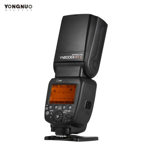 YONGNUO YN600EX-RT II Professional Creative TTL Master Flash Speedlite 2.4G Wireless 1/8000s HSS GN60 Support Auto/ Manual Zooming for Canon Camera as 600EX-RT YN6000 EX RT II от Tomtop.com INT