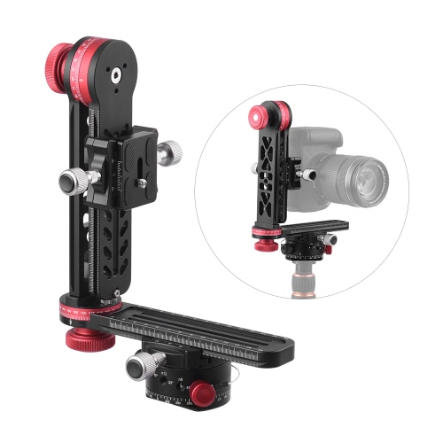 720 Degree Panoramic Head Panoramic Support Stand Gimbal Tripod Ball Head for Canon Nikon Sony Pentax DSLR Camera Camcorder Max Load Capacity 10kg от Tomtop.com INT