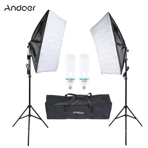 Buy Andoer Photography Studio Cube Umbrella Softbox Light Lighting Tent Kit