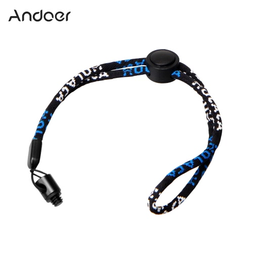 Andoer Camera Neck Wrist Strap with 1/4 Screw Nut Kit for Ricoh Theta S & M15 for LG 360 Cam for Samsung Gear 360 Camera Camcorder от Tomtop.com INT