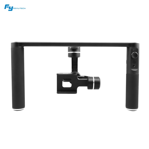 FeiyuTech SPG PLUS 3-Axis Dual Handheld Smartphone Action Camera Gimbal Stabilizer Professional Photography Platform for for iPhone 7 Plus 7 6s Plus 6s for HUAWEI Samsung Xiaomi Phones for GoPro Hero5 4 3 and Others with Similar Dimension от Tomtop.com INT