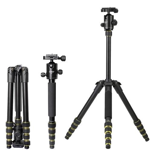 Buy OBO Foldable Portable Extendable Aluminium Alloy DSLR Camera Tripod Unipod Monopod Ball Head Canon 760D 7D2 70D 5D2 5DS 5DSR Nikon D750 D7200 D5500 D810 D610 Sony A7 A7S A7R A7RII