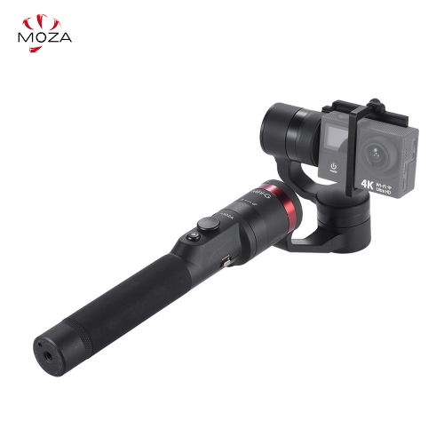 MOZA Mini-G 3 Axis Handheld Wearable Gimbal Stabilizer Multiple Modes Support for Bluetooth APP Control for GoPro Hero5/4/3+/3 for Yi 4K Action Sports Camera от Tomtop.com INT
