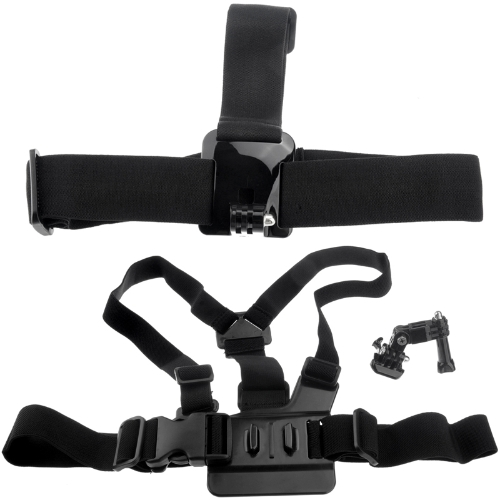Buy Elastic Chest Strap Head Mount Belt GoPro HD Hero 1 2 3 3+ 4 Adjustment Base