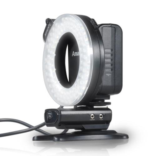 Aputure Amaran Halo HC100 CRI 95+ LED Ring Flash Light for Canon EOS 7D 6D 50D 5D Mark III 5D Mark II 700D 70D 650(T4i) 20D от Tomtop.com INT