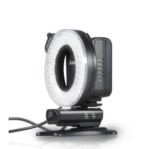 Aputure Amaran Halo HN100 CRI 95+ LED Ring Flash Light for Nikon D7100 D7000 D5200 D5100 D800E D800 D700 D600 D90 Camera от Tomtop.com INT
