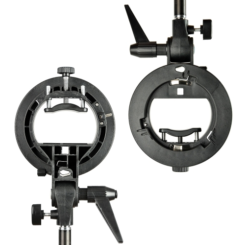 PRO Godox S-Type Bracket Bowens Mount Holder for Speedlite Flash Snoot Softbox от Tomtop.com INT