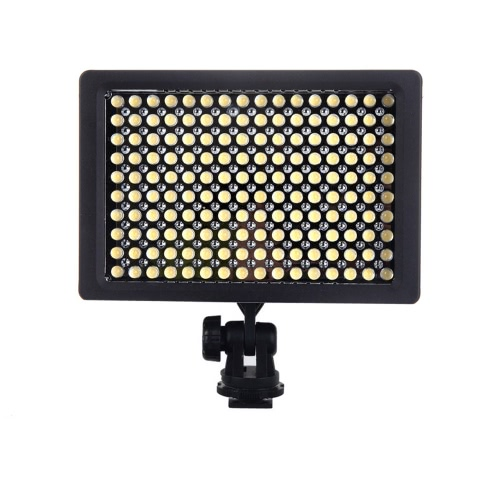 160 LED Video Light Lamp Panel 9.6W Dimmable for Canon Nikon Pentax DSLR Camera Video Camcorder от Tomtop.com INT