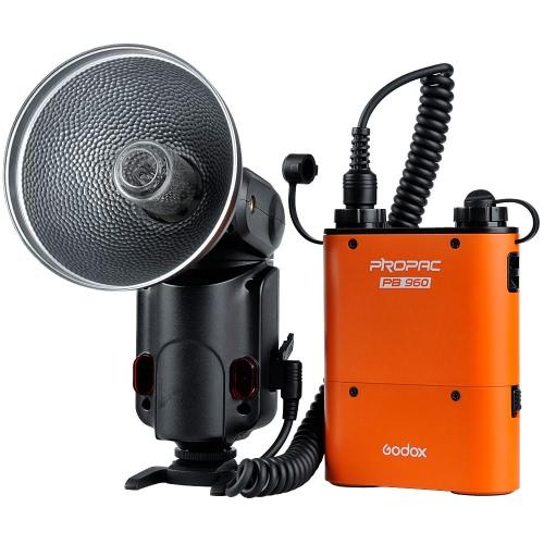 Buy GODOX Witstro AD-180 180W GN60 External Portable Flash Light Speedlite PB960 Lithium Battery Pack Kit Canon Nikon Camera