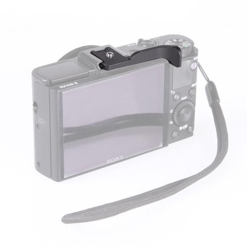 Thumb Up Grip for Canon EOS M G11 G12 G15 G1X NIKON P7100 P7700 COOLPIX A Fujifilm X100 X100S X-E1 X-pro1 Pentax Q Q7 Q10 K10 Vario D-Lux 6 5 X2 ME M9 M9-P от Tomtop.com INT