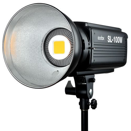 Godox SL-100W 2400LUX Studio LED Continuous Video Light Bowens Mount от Tomtop.com INT