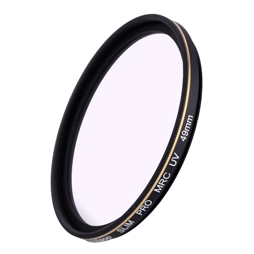 Buy CACAGOO 49mm Pro HD Super Slim MRC UV Filter Germany SCHOTT Glass Waterproof Nano Multi-Coated Canon Nikon Snoy Pentax DSLR Camera