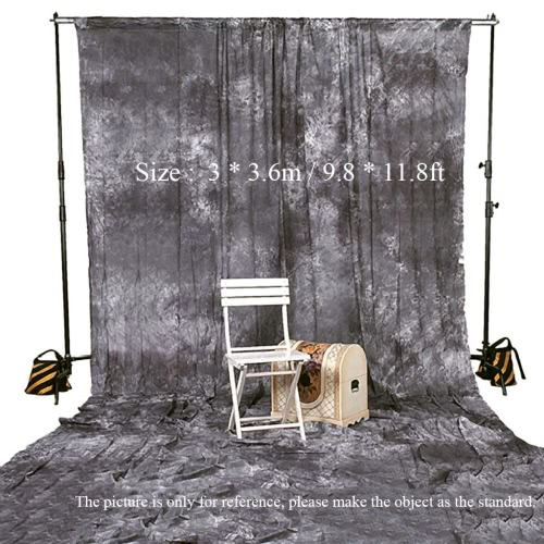 Buy Photography Studio Video 3 * 3.6m / 9.8 11.8ft Tie Dyed 100% Cotton Muslin Backdrop Background Screen