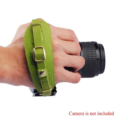 Buy LYNCA Camera Hand Strap PU Leather Metal Quick Release Plate Canon Nikon Sony Pentax SLR DSLR Cameras
