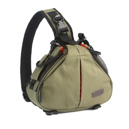 Buy Caden K1 Waterproof Fashion Casual DSLR Camera Bag Case Messenger Shoulder Canon Nikon Sony Army Green
